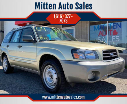 2004 Subaru Forester for sale at Mitten Auto Sales in Holland MI