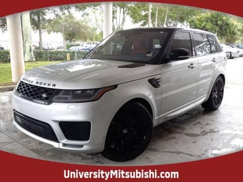 2018 Land Rover Range Rover Sport for sale at FLORIDA DIESEL CENTER in Davie FL