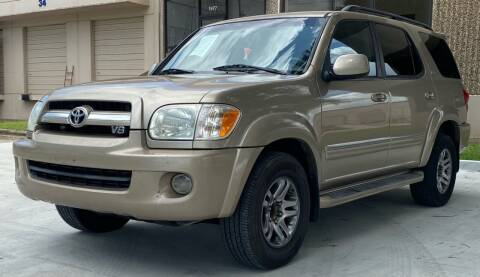 2005 Toyota Sequoia for sale at Mr Cars LLC in Houston TX