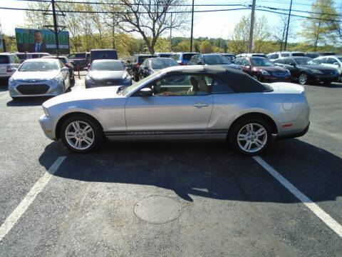 2010 Ford Mustang for sale at Gemini Auto Sales in Providence RI