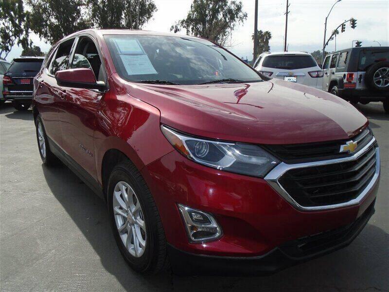 2018 Chevrolet Equinox for sale at Centre City Motors in Escondido CA