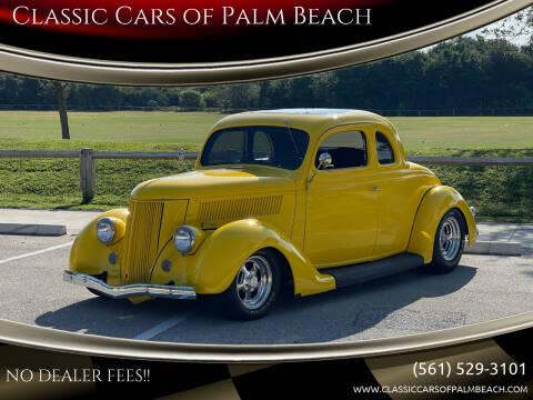 1936 Ford Super Deluxe for sale at Classic Cars of Palm Beach in Jupiter FL