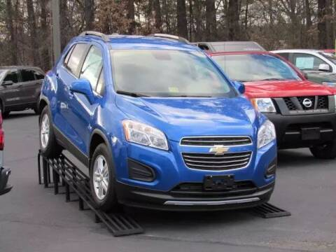 2015 Chevrolet Trax for sale at Whitmore Chevrolet in West Point VA