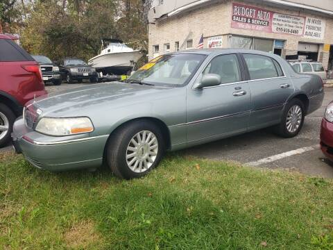 2005 Lincoln Town Car for sale at Budget Auto Sales & Services in Havre De Grace MD