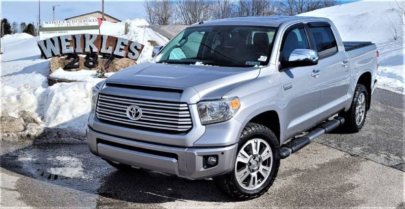 2014 Toyota Tundra for sale at WEIKLES SPECIALTY in Felton PA