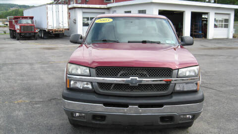 2005 Chevrolet Silverado 1500 for sale at SHIRN'S in Williamsport PA