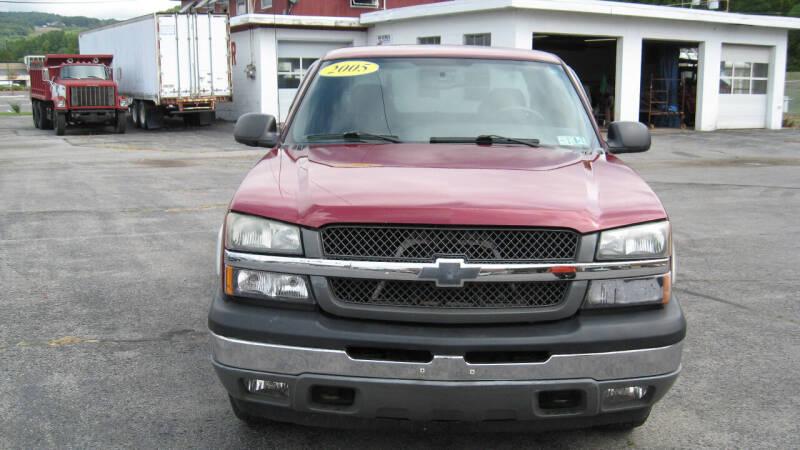 2005 Chevrolet Silverado 1500 for sale at SHIRN'S in Williamsport PA