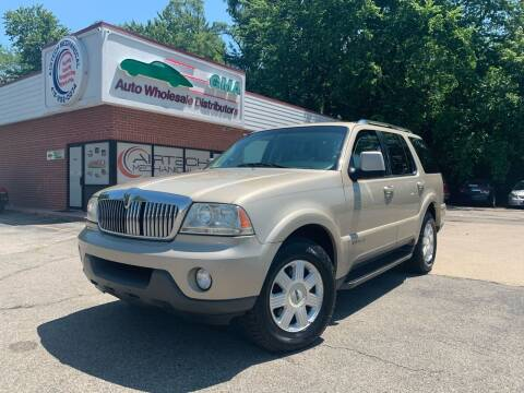 2005 Lincoln Aviator for sale at GMA Automotive Wholesale in Toledo OH