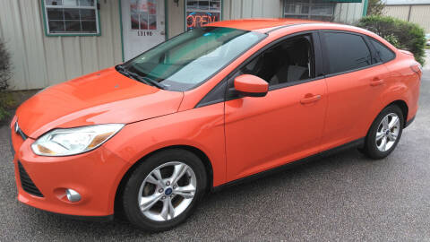 2012 Ford Focus for sale at Haigler Motors Inc in Tyler TX