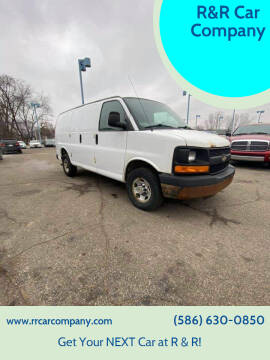 2012 Chevrolet Express Cargo for sale at R&R Car Company in Mount Clemens MI