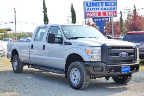 2014 Ford F-250 Super Duty for sale at United Auto Sales in Anchorage AK