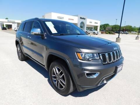 2020 Jeep Grand Cherokee for sale at Stanley Chrysler Dodge Jeep Ram Gatesville in Gatesville TX