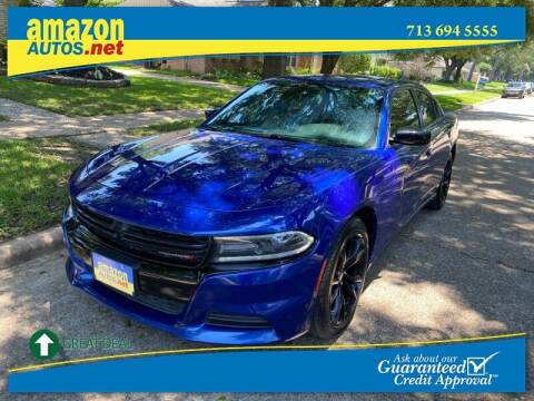 2018 Dodge Charger for sale at Amazon Autos in Houston TX
