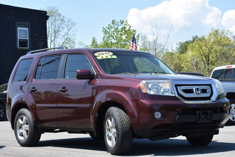 2011 Honda Pilot for sale at GREENPORT AUTO in Hudson NY