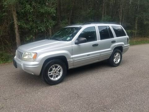 2004 Jeep Grand Cherokee for sale at J & J Auto Brokers in Slidell LA