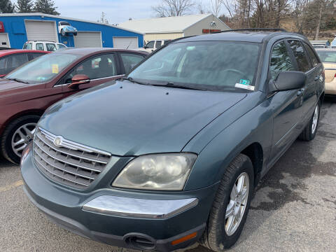 2006 Chrysler Pacifica for sale at BURNWORTH AUTO INC in Windber PA