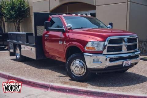 2012 RAM Ram Chassis 3500 for sale at Mcandrew Motors in Arlington TX