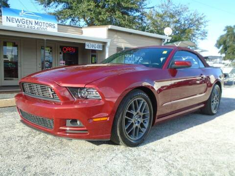 2014 Ford Mustang for sale at New Gen Motors in Lakeland FL
