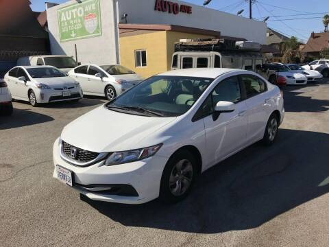 2014 Honda Civic for sale at Auto Ave in Los Angeles CA
