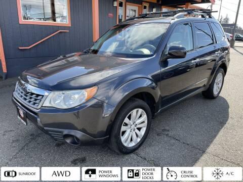 2012 Subaru Forester for sale at Sabeti Motors in Tacoma WA