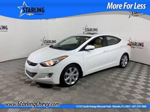 2013 Hyundai Elantra for sale at Pedro @ Starling Chevrolet in Orlando FL