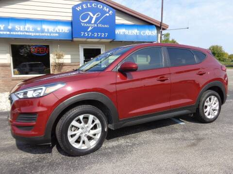 2019 Hyundai Tucson for sale at VanderHaag Car Sales LLC in Scottville MI