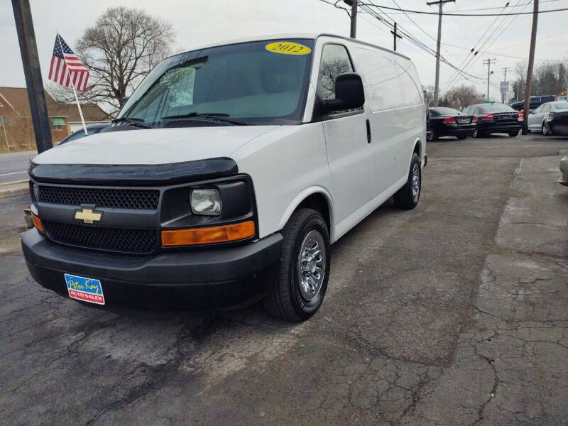 2012 Chevrolet Express Cargo for sale at Peter Kay Auto Sales in Alden NY
