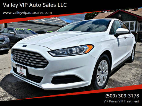 2014 Ford Fusion for sale at Valley VIP Auto Sales LLC in Spokane Valley WA