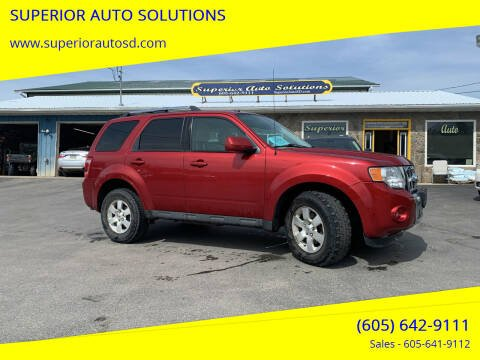 2012 Ford Escape for sale at SUPERIOR AUTO SOLUTIONS in Spearfish SD
