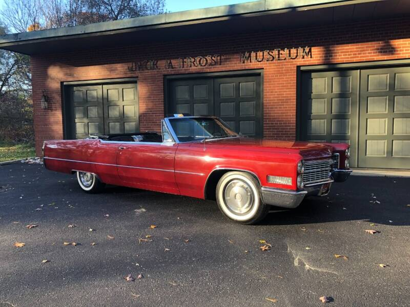 1966 Cadillac DeVille for sale at Jack Frost Auto Museum in Washington MI