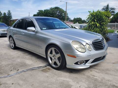 2009 Mercedes-Benz E-Class for sale at All Around Automotive Inc in Hollywood FL