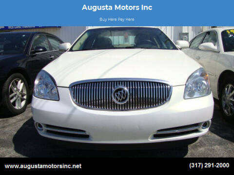 2011 Buick Lucerne for sale at Augusta Motors Inc in Indianapolis IN