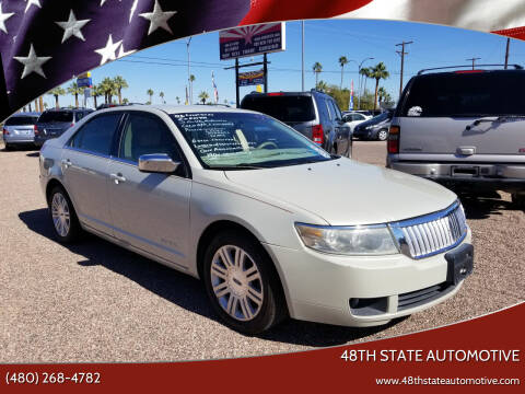 2006 Lincoln Zephyr for sale at 48TH STATE AUTOMOTIVE in Mesa AZ