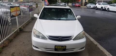 2004 Toyota Camry for sale at KING MOTORS AUTO SALES, INC in Newark NJ