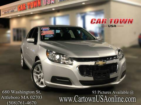 2015 Chevrolet Malibu for sale at Car Town USA in Attleboro MA