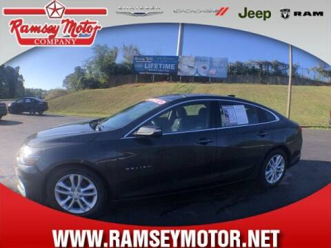 2017 Chevrolet Malibu for sale at RAMSEY MOTOR CO in Harrison AR