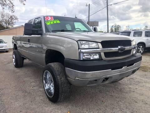 2003 Chevrolet Silverado 2500HD for sale at Harry's Auto Sales, LLC in Goose Creek SC