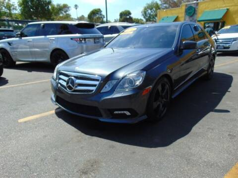 2010 Mercedes-Benz E-Class for sale at Santa Monica Suvs in Santa Monica CA