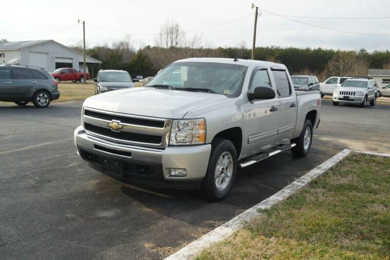2011 Chevrolet Silverado 1500 for sale at Herman's Motor Sales Inc in Hurt VA