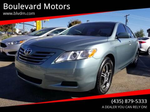 2007 Toyota Camry for sale at Boulevard Motors in St George UT