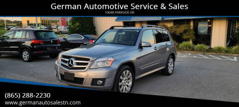 2012 Mercedes-Benz GLK for sale at German Automotive Service & Sales in Knoxville TN