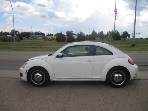 2013 Volkswagen Beetle for sale at BUZZZ MOTORS in Moore OK