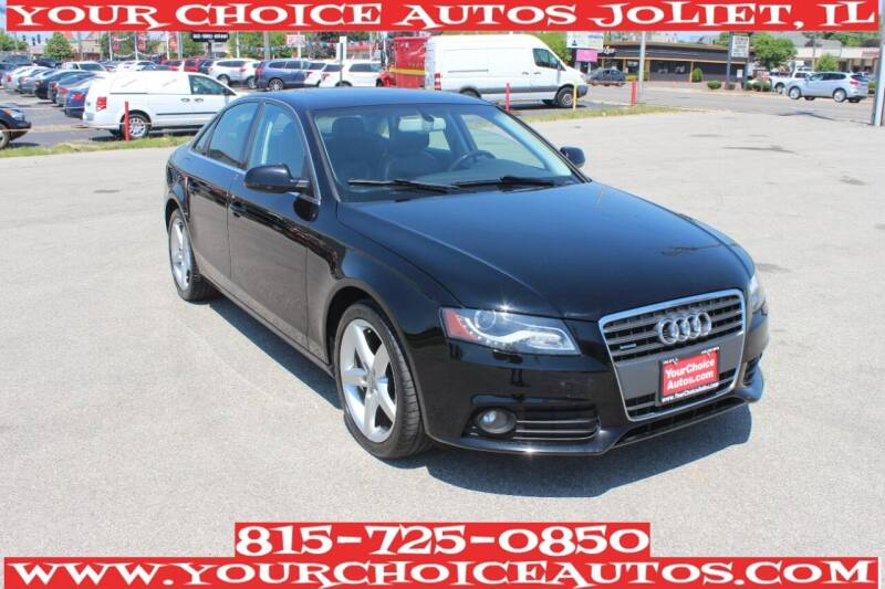 2011 Audi A4 for sale at Your Choice Autos - Joliet in Joliet IL