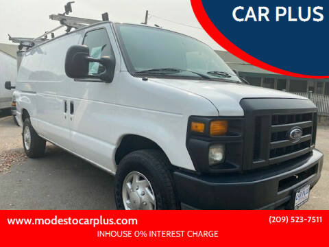 2010 Ford E-Series Cargo for sale at CAR PLUS in Modesto CA
