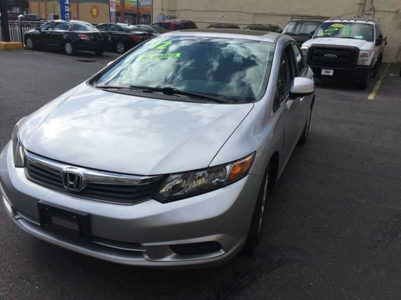 2012 Honda Civic for sale at Xpress Auto Sales & Service in Atlantic City NJ