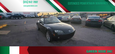 2007 Mazda MX-5 Miata for sale at Green Ride Inc in Nashville TN