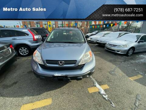 2007 Honda CR-V for sale at Metro Auto Sales in Lawrence MA