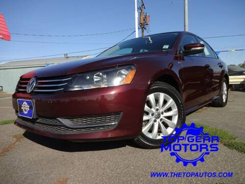 2014 Volkswagen Passat for sale at Top Gear Motors in Union Gap WA