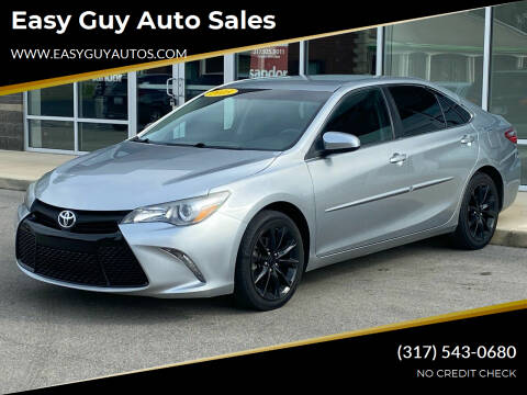 2015 Toyota Camry for sale at Easy Guy Auto Sales in Indianapolis IN