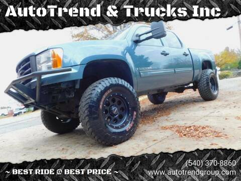 2008 GMC Sierra 1500 for sale at AutoTrend & Trucks Inc in Fredericksburg VA